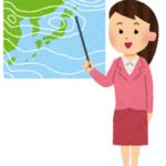 女性の気象予報士